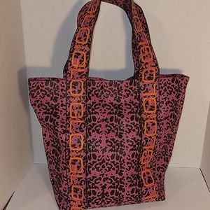 GLO Jeans Animal Print Pink Tote Bag